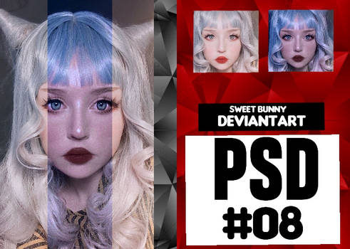 PSD #08 (By  Sweetbunny0909) by Sweetbunny0909
