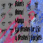 Anime Eyes Set 1 - CS2 by Balen13