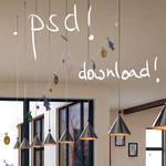 Livingroom - .psd