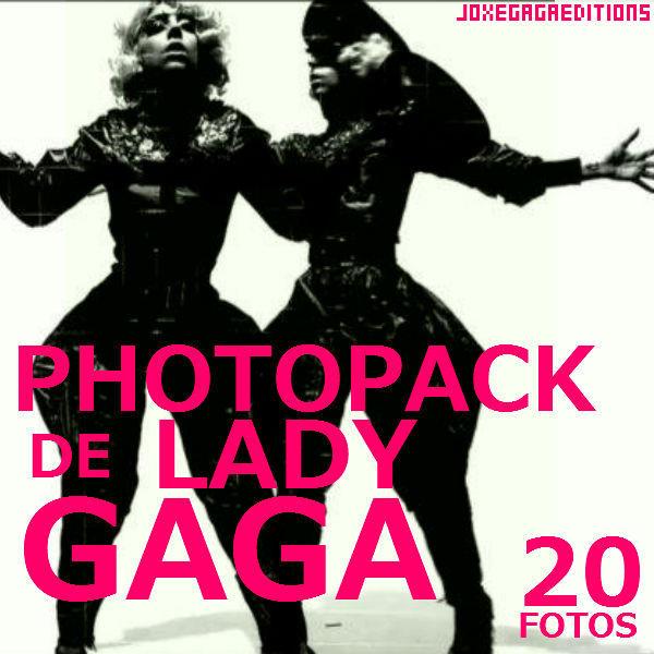 PHOTOPACK DE LADY GAGA by JoxeGaga