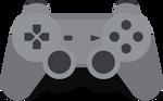 Vector PlayStation gamepad