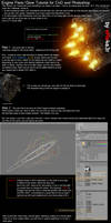 Engine Flare - Glow Tutorial
