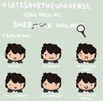 Sherlock Holmes Icon Pack