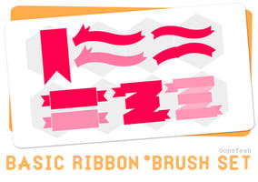 Basic Ribbon Brush Set
