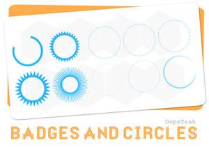 Badges and Circles