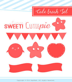 CuteBrushSet