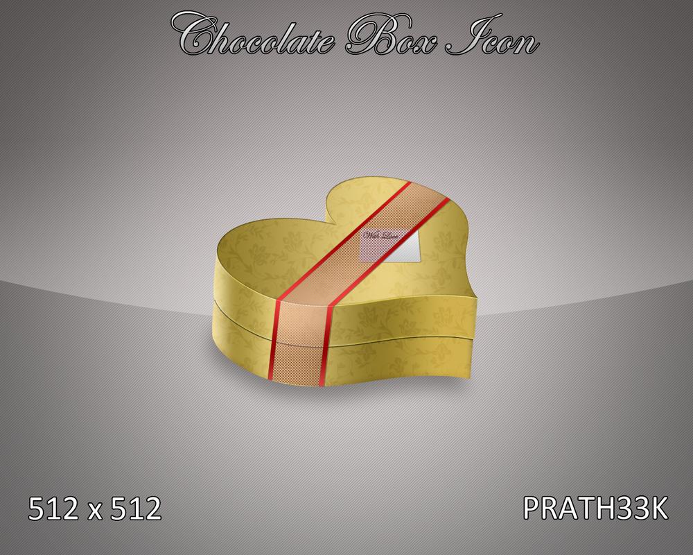 Chocolate Box Icon by PRATH33K