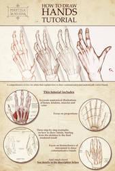 How to Draw Hands - Tutorial by MartinaDaBologna
