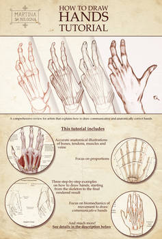 How to Draw Hands - Tutorial