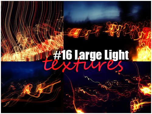16 large light textures