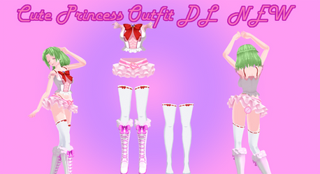 [MMD] NEW Cute princess outfit (DL)