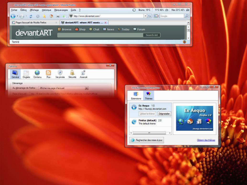 Ex Aequo - Firefox 2.0 by 1bumpy