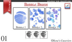 Bubble Brush by dreamswoman