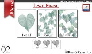 Leaf Brush by dreamswoman