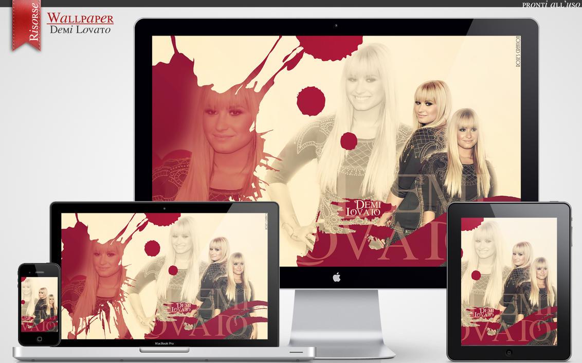 Wallpaper - Demi Lovato (1) by dreamswoman