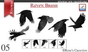 Raven Brush