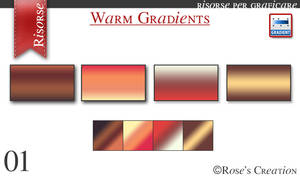 Warm Gradients