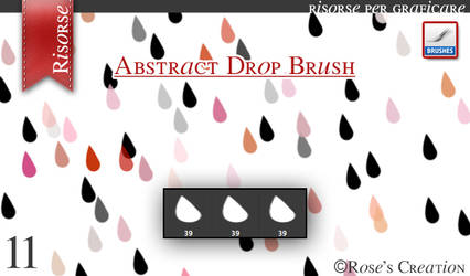 Abstract Drop by dreamswoman