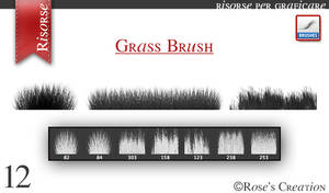 Grass Brush by dreamswoman