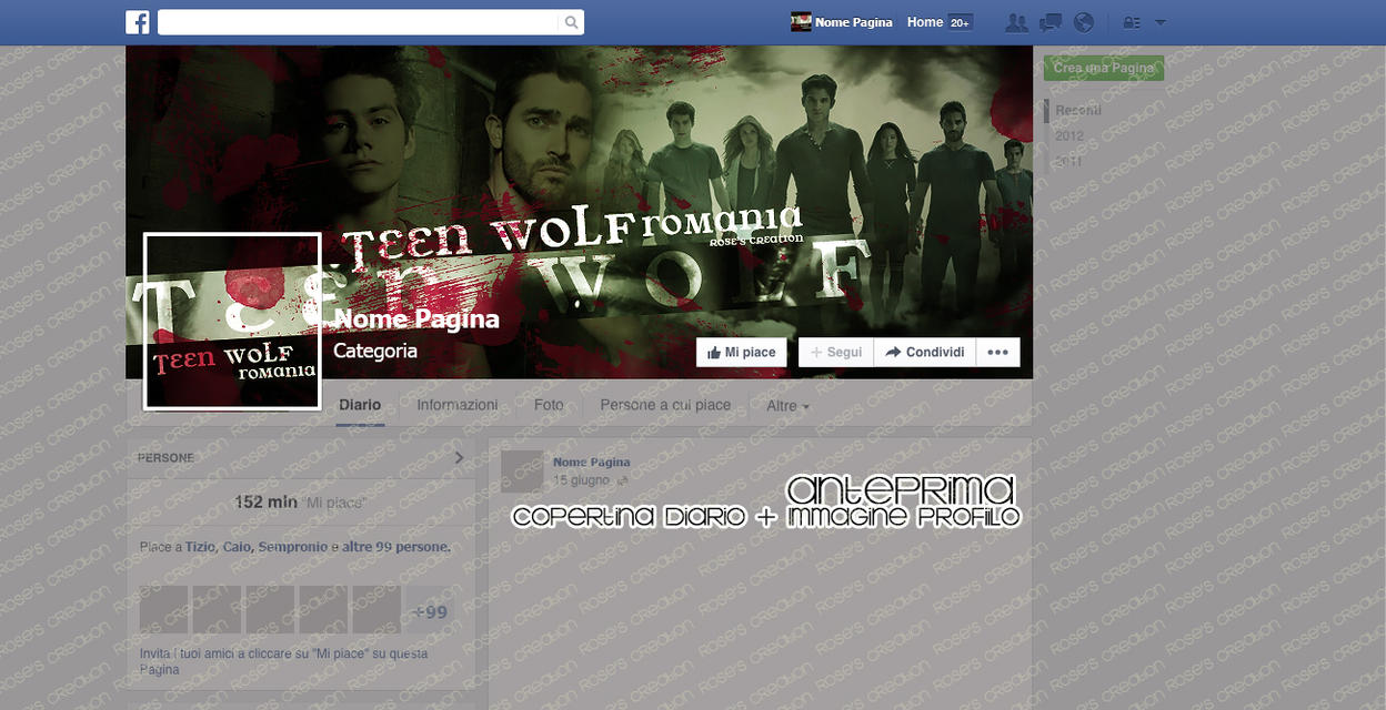 Facebook Timeline #472 (2) - Teen Wolf Romania by ...