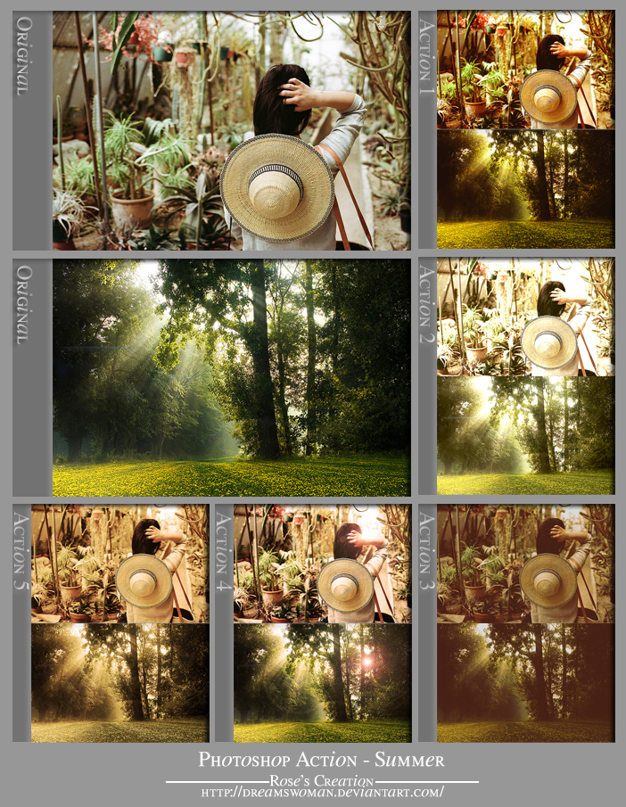 Photoshop Actions - Summer by dreamswoman