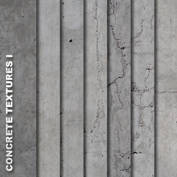 Concrete Textures I by quansie