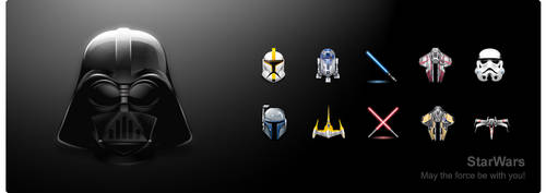 Star Wars - by YellowIcon.com