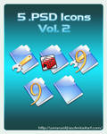 5 .PSD Icons Vol. 2