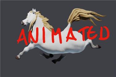 Big tush horse animation