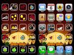 iPod Angry Birds Wallpaper
