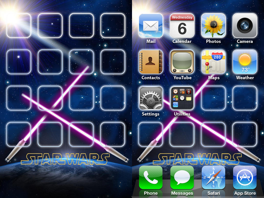 IPhone Star Wars Wallpaper By ChrisssG