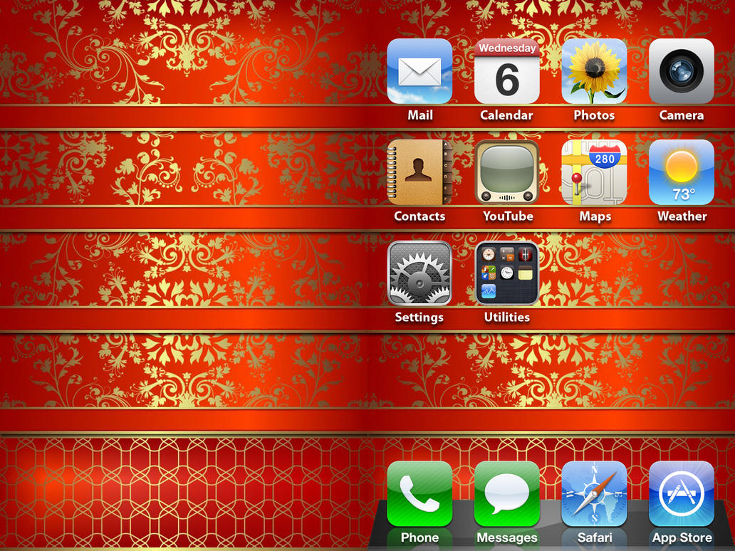 iphone decorative wallpaper by chrisssg - Decorative Wallpaper