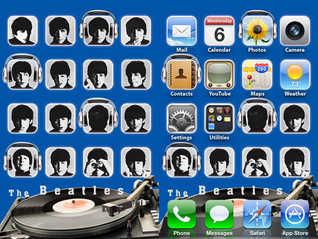 The beatles wallpaper iphone by chrisssg on deviantart - The beatles wallpaper iphone ...