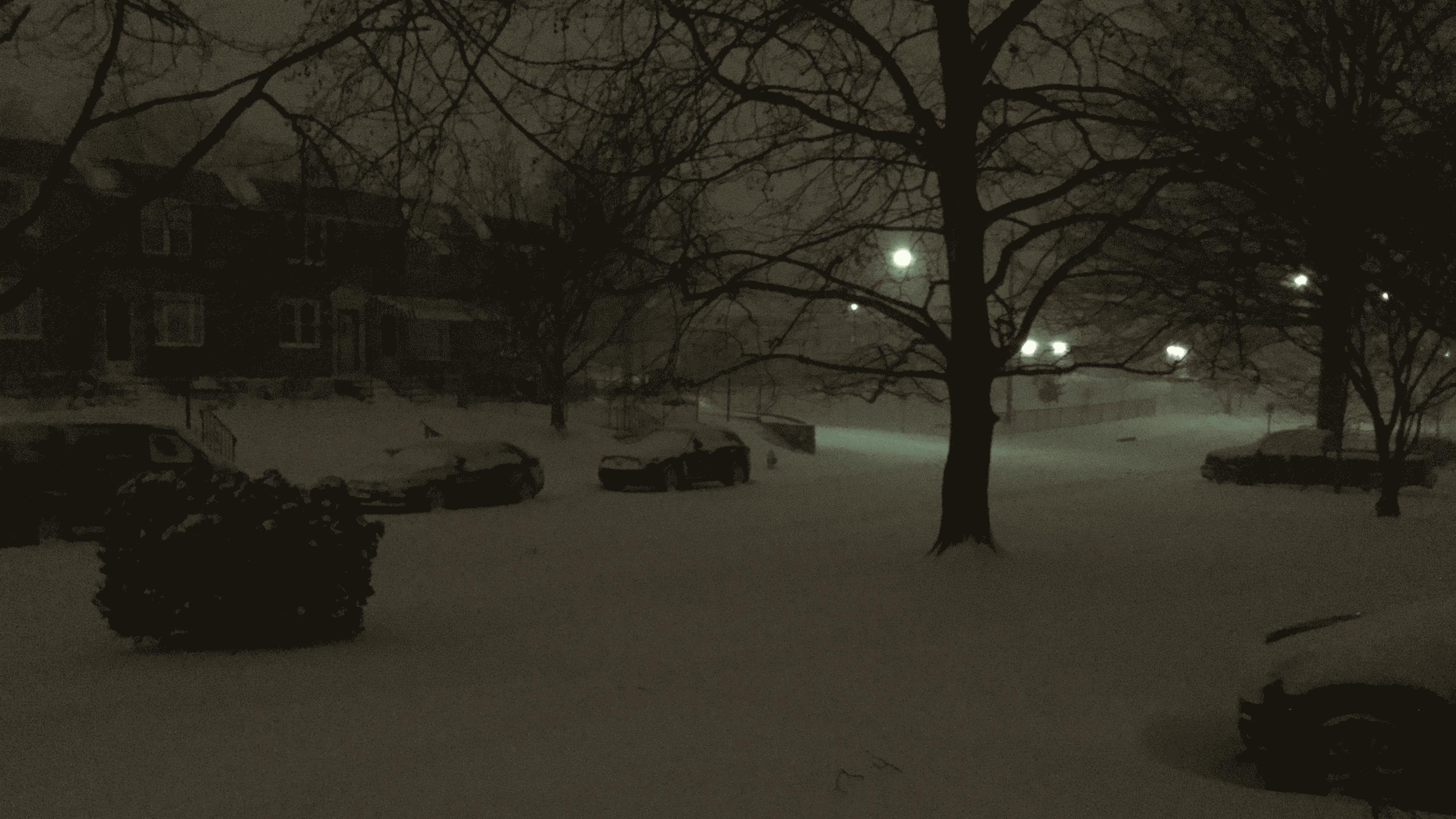 finally, snow by skateboarder11