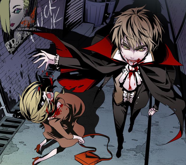 Vampire!Arthur x Reader: Part IV by Wierdo035