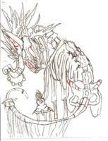 The Skeletal Warden by kyrisnowpaw