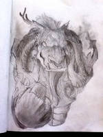 Tauren Shaman by kyrisnowpaw