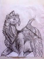 FELociraptor by kyrisnowpaw