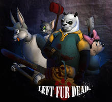 Left FUR Dead by kyrisnowpaw