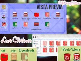 Tema Iconpackager ''Love Chritmas'' by Dianeyeditions