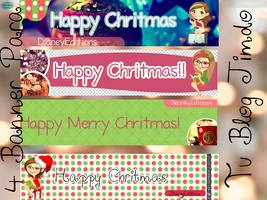 Banners Chritmas para Jimdo by Dianeyeditions