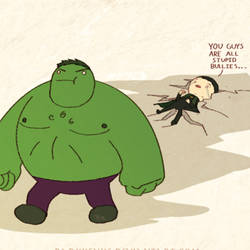 Avengers: Puny God by DarkKenjie