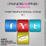 p46p simple social icons 1