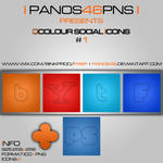 colour social icons