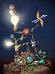 Creativ Owl animation