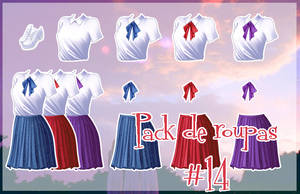 Pack de roupa #14 by Unnieverso