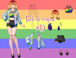Pack de roupas #19 by Unnieverso