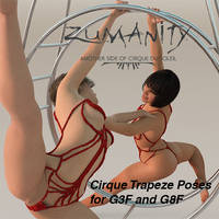 Cirque Trapeze Poses G3F - G8F