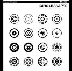 Circle Shapes I for Photoshop