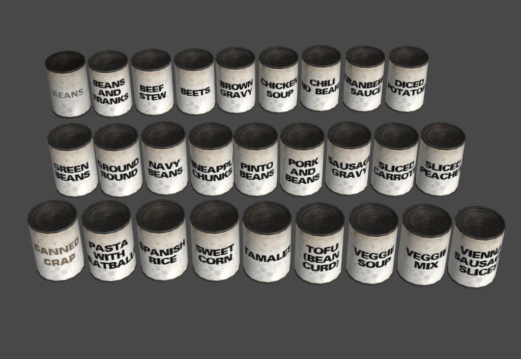 white portal label